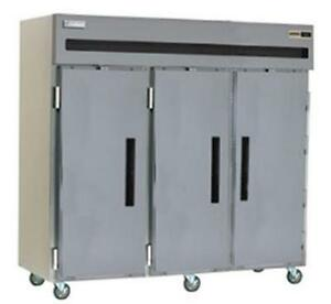 Delfield Gbf3p s 66 5 Cu ft Commercial Freezer Reach in With 3 Solid Doors