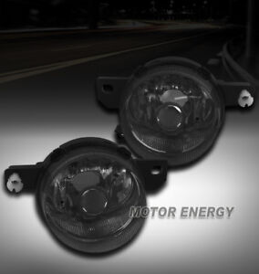 For 93 94 95 Honda Del Sol S Si Bumper Driving Fog Lights Smoke Left right Pair