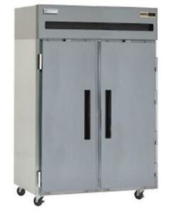 Delfield Gbf2p s 43 5 Cu ft Commercial Freezer With 2 Solid Doors Reach in
