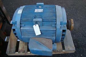 General Electric 100hp 3 Phase 230 460 Volt Electric Motor 5k404al215c