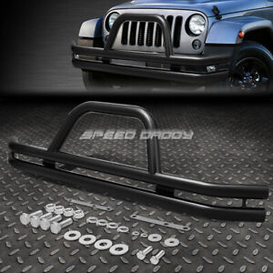 For 87 06 Jeep Wrangler Oe Style Carbon Steel Front Bumper Brush Grille Guard