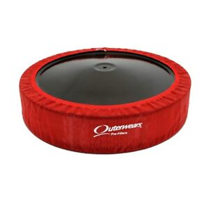 New 14x4 Air Filter Outerwear Red Pre Filter Cover Modified Stock Car Imca