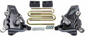 3 5 Front Lift Spindles Ford F150 2 Rear Cast Block Suspension Kit 1997 03 2wd