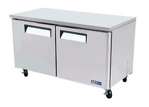 Turbo Air 60 Undercounter Stainless 16 Cu ft Freezer Muf 60