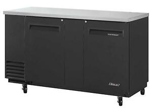 Turbo Air 23 Cu ft Black Vinyl Exterior Back Bar Beverage Cooler Tbb 3sb