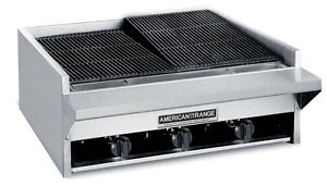 American Range Aecb 14 14 Rock Char Broiler Gas Char Grill