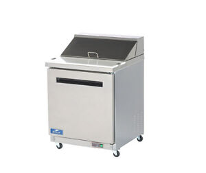 Arctic Air Ast28r 28 Stainless Steel Sandwich Salad Prep Cooler