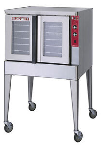 Blodgett Zeph 200 e Sgl Zephaire Full Size Bakery Depth Electric Convection Oven