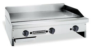 American Range Armg 48 48in Manual Commercial Gas Flat Griddle