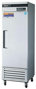 Turbo Air 23 Cu ft Solid 1 Door Reach In Freezer Tsf 23sd