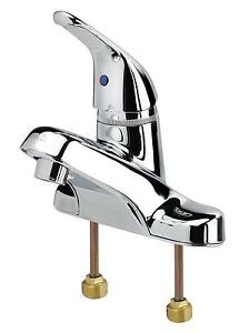 Krowne Metal 12 510l Commercial Series Single Lever Lavatory Deck Mount Faucet