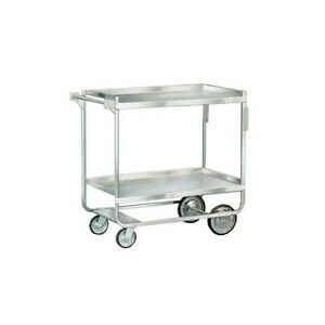 Lakeside 558 22 3 8 x54 5 8 x37 Stainless Steel Welded Utility Cart