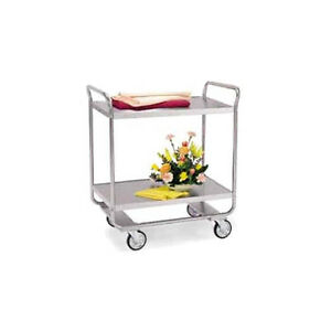 Lakeside 243 36 wx22 dx40 5 8 h Stainless Steel Utility Cart