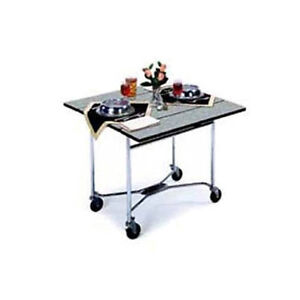 Lakeside 413 36 x36 Square Drop leaf Laminated Room Service Table