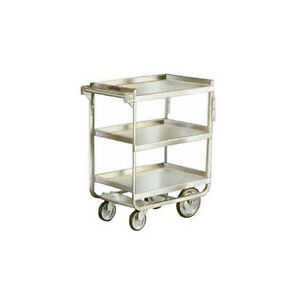 Lakeside 511 16 1 4 x30 x34 1 4 Stainless Steel Welded Utility Cart