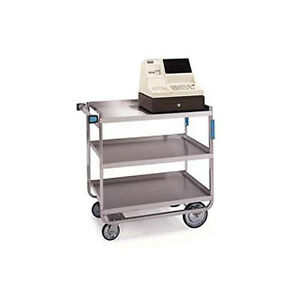 Lakeside 544 22 3 8 x38 5 8 x37 1 8 Stainless Steel Welded Utility Cart
