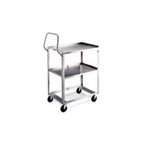Lakeside 6830 22 x53 1 8 x44 3 8 Stainless Steel Ergo one Utility Cart