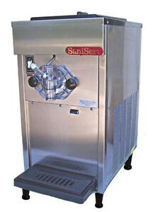 Saniserv 404 20 Qt Soft Serve Ice Cream Machine Single Flavor