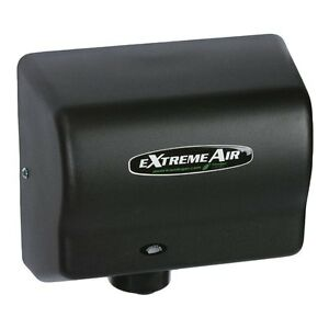American Dryer Gxt Series Automatic Hand Dryer Steel Black Graphite 1500w