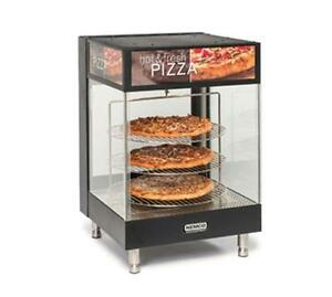 Nemco 6422 Open View Heated Pizza Merchandiser 4 tier 18 Rack