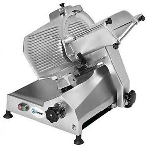 Univex 7512 Value Series 12in 5hp Manual Feed Belt Driven Slicer