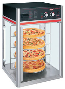 Hatco Fsdt 1 120 qs 1 Door Revolving Pizza Display Cabinet W 4 Tier Circle Rack