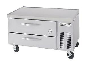 Beverage air Wtrcs36 1 48 48in Two Drawer Refrigerated Chef Base Equipment Stand