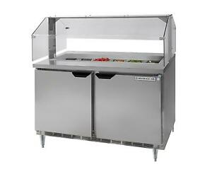 Beverage air Spe48hc 12 snz 13 9 Cu ft Refrigerated Counter Condiment Station