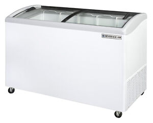 Beverage air Nc51 1 w 10 9 Cuft 51 Slanted top Novelty Case Display Freezer
