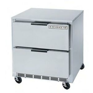 Beverage air Ucrd36ahc 2 36 Wide X 29 Deep Undercounter Cooler W 2 Drawers