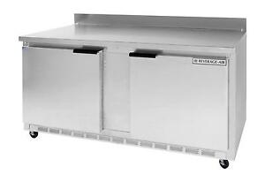 Beverage air Wtr60ahc 17 1 Cuft 60 Wide Two Section Work top Refrigerator