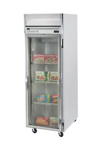 Beverage air Hr1 1g 24 Cuft Horizon Series Glass Door Reach in Refrigerator