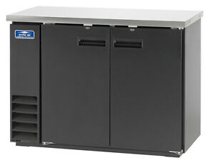 Arctic Air Abb48 48 2 Solid Door Back Bar Cooler