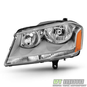 Replacement 2008 2014 Dodge Avenger Headlight Headlamp 08 14 Left Driver Side Lh
