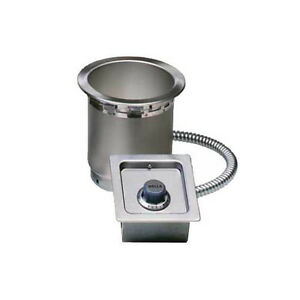 Wells Ss 4tduci Built in Top Mount Food Warmer For 4 Quart Round Inserts