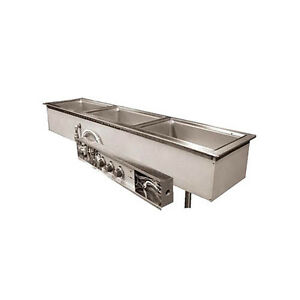 Wells Mod 200tdmn af 2 12 x20 Built in Top Mount Narrow Width Food Warmer