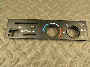 Toyota 4runner Surf Tacoma Pickup Truck Heater Ac Climate Control Display Panel