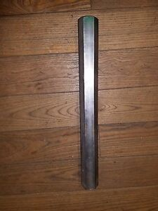 2 Thick X 20 5 8 Long Stainless Steel Hex Bar Hex Rod