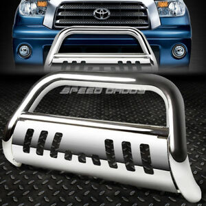 For 07 16 Toyota Tundra Sequoia Stainless Steel Bull Bar Push Bumper Grill Guard