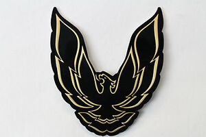 85 92 Firebird trans Am Rear Filler Panel Bird Emblem Gold New Reproduction