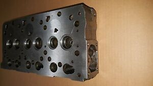 New Kubota Bare Cylinder Head For Bx22 Bx2200d Bx23lb b Fz2100 C w Gaskets