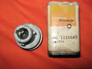 Gm Nos 1963 Oldsmobile Cutlass F 85 Ignition Switch Gm Part 1116643 Delco