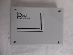 Io Tech Terminal Panel T71 tc Thermocouple 0 3 C Accuracy 8 Channels c6