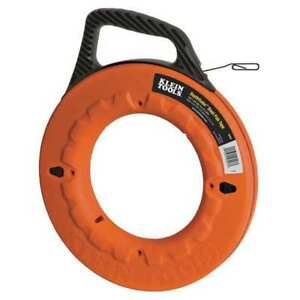 Marked Fish Tape 1 8 In X 240 Ft steel Klein Tools 56004
