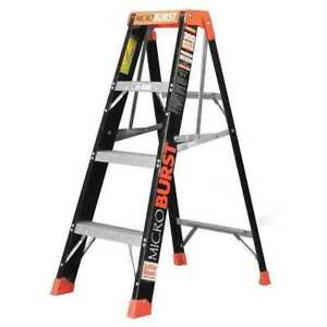 Little Giant 15700 001 Stepladder fiberglass iaa 4ft microburst