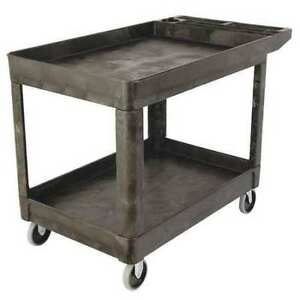 Utility Cart 500 Lb Load Cap Rubbermaid Fg452089bla
