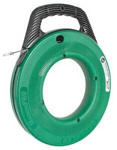 Greenlee Ftss438 100 Fish Tape 1 8 In X 100ft stainless Steel