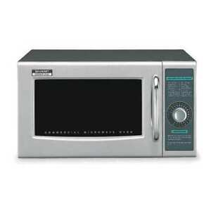 Sharp R21lcfs Stainless Steel Commercial Professional Microwave Oven 0 95 Cu Ft