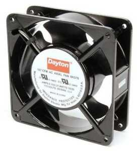 Dayton 6kd76 Axial Fan Square 115vac 1 Phase 107 Cfm 4 11 16 W