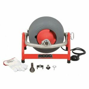 Drain Cleaning Machine 3 8x100 1 2x90 Ridgid 53117